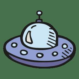 Alien ship icon