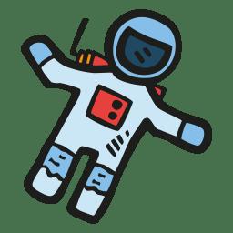 Astronaut Icon Free Space Iconset Good Stuff No Nonsense
