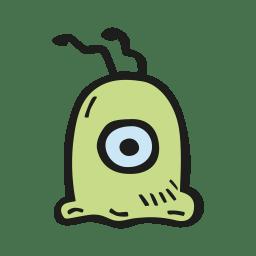 Brain slug icon