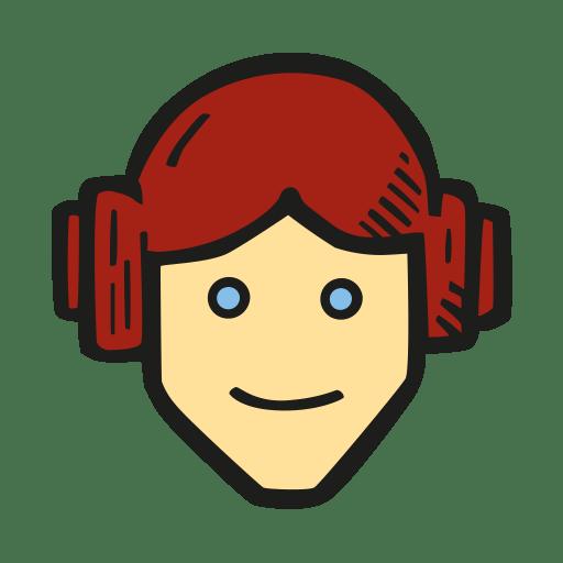 Princess-leia icon