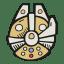 Millennium Falcon icon