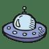 Alien-ship icon