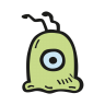 Brain-slug icon