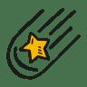 Falling-star icon