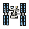 International-space-station icon