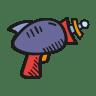 Laser-gun icon