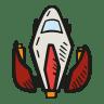Space-ship icon