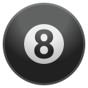 Pool 8 ball icon