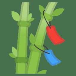 Tanabata tree icon