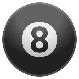 Pool 8 ball icon