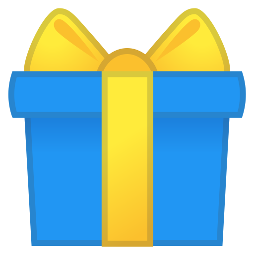 Wrapped gift icon