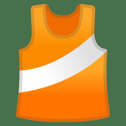 Running shirt icon
