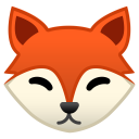 Fox face icon