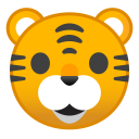Tiger face icon