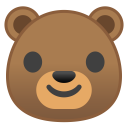 Bear face icon