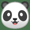 Panda face icon