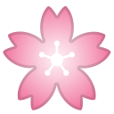 Cherry blossom icon