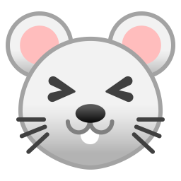 Mouse face icon