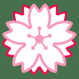 White flower icon
