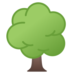 Deciduous Tree Icon Noto Emoji Animals Nature Iconset Google