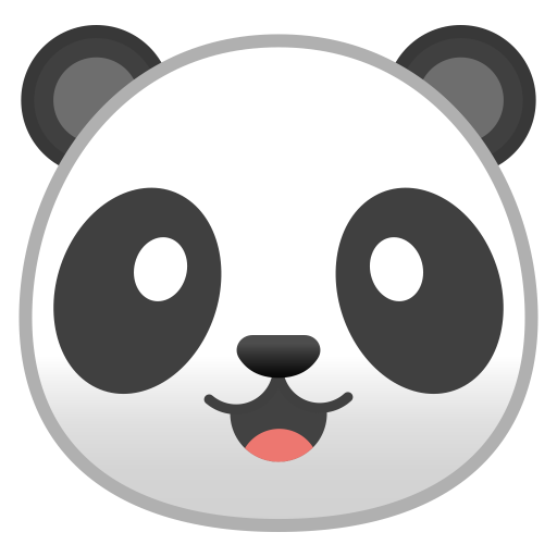 22261-panda-face icon