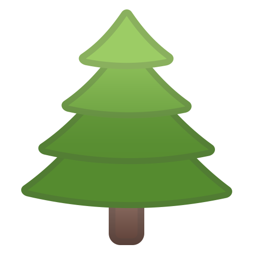 Evergreen tree icon