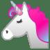 22228-unicorn-face icon