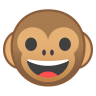 22211-monkey-face icon