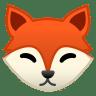 22218-fox-face icon