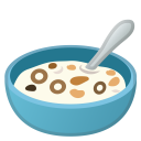 Bowl with spoon icon