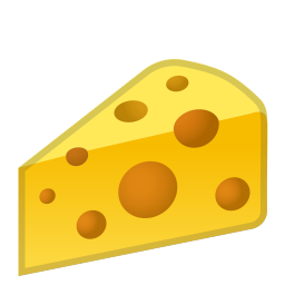 Cheese wedge icon