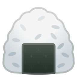 Rice ball icon
