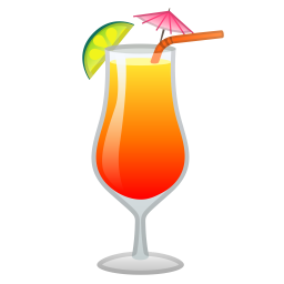 Tropical drink icon