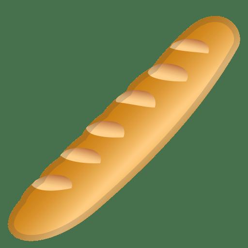 Baguette bread icon