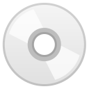 Optical disk icon