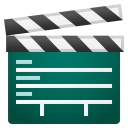 Clapper board icon