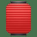 Red paper lantern icon