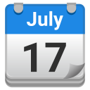 Tear off calendar icon