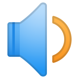 Speaker medium volume icon