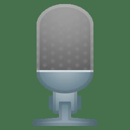 Studio microphone icon