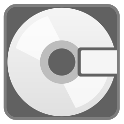 Computer disk icon