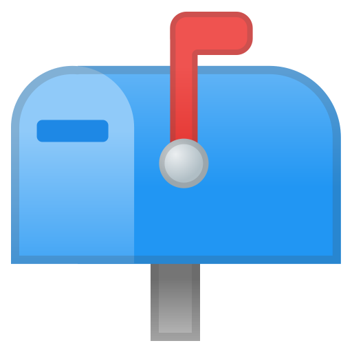 62895-closed-mailbox-with-raised-flag icon