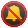62795-bell-with-slash icon