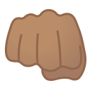 12029-oncoming-fist-medium-skin-tone icon