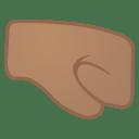 12041-right-facing-fist-medium-skin-tone icon