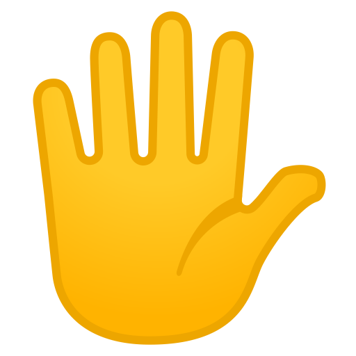 11990-hand-with-fingers-splayed icon