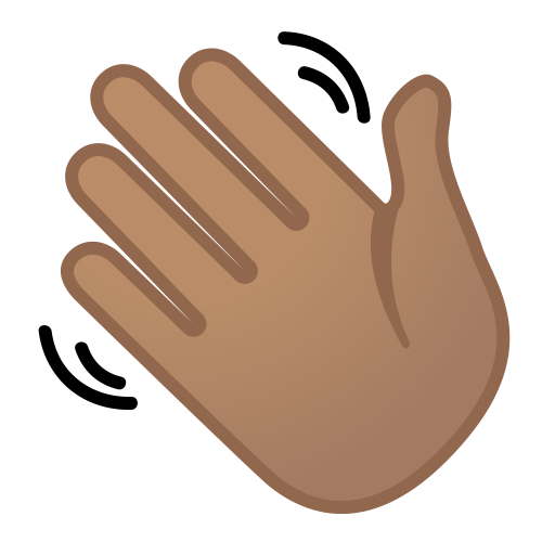 12053-waving-hand-medium-skin-tone icon