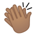 12072-clapping-hands-medium-skin-tone icon