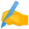 12063-writing-hand icon