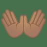 12078-open-hands-medium-skin-tone icon